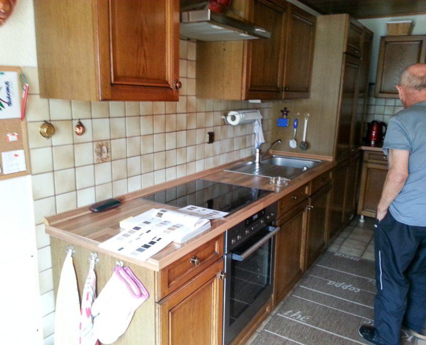 küche alt und neu